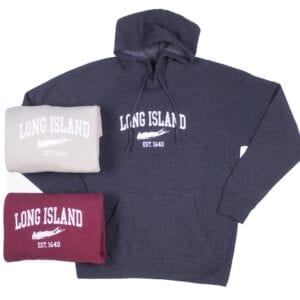 unfolded and folded hoodies