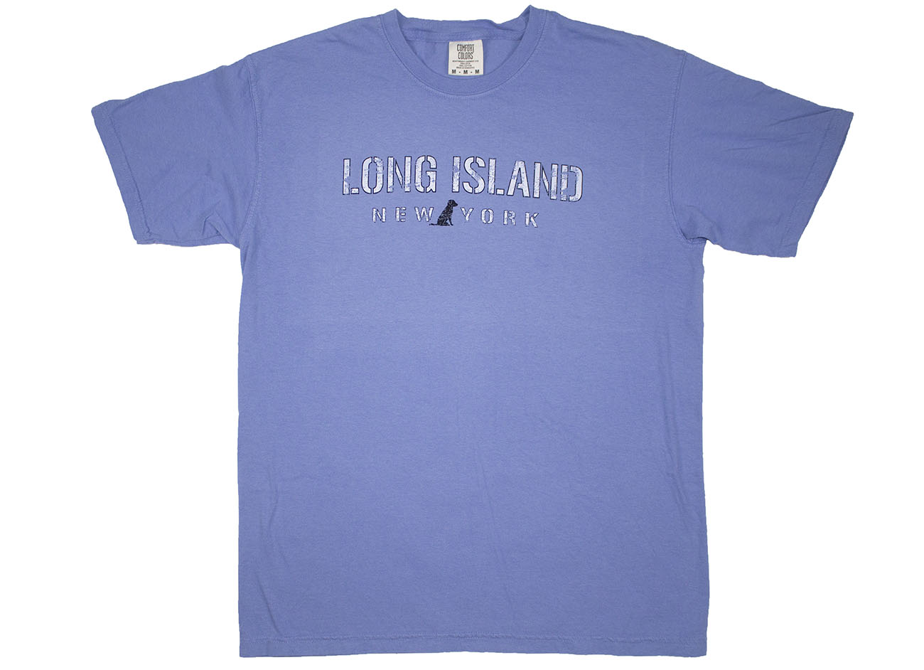 Blue T-shirt with New York text
