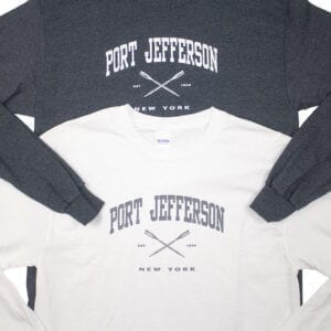 Black and white long sleeves