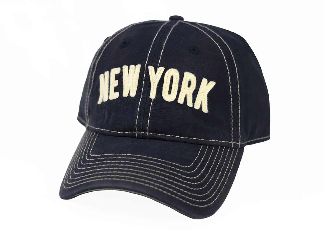 black hat with New York text