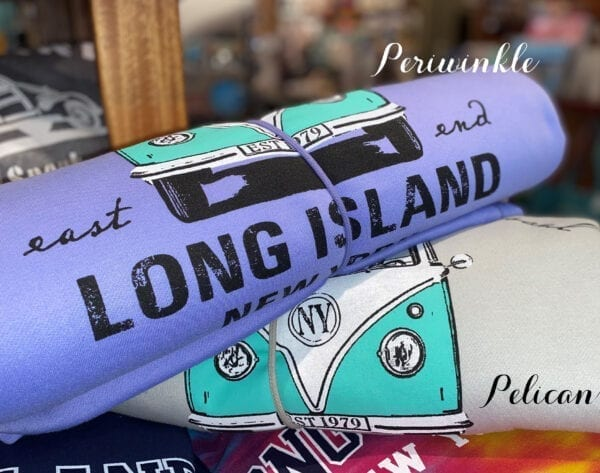 Long Island Bus Blanket Periwinkle and Pelican