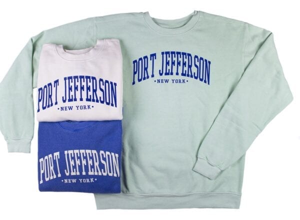 pack of multi-colored sweatshirts